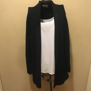 🎉Black pocket front cardigan sweater 1X🎉